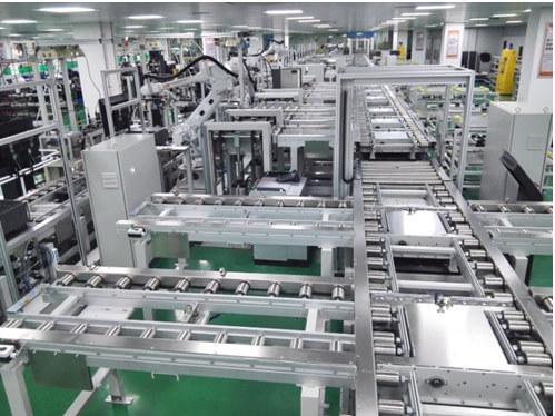光伏逆变器自动化生产线
