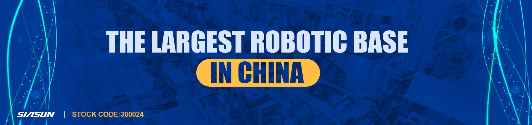 the largest robotic base in china